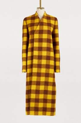 Rick Owens Wool and alpaca coat