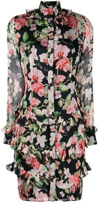 Philipp Plein floral print short dress