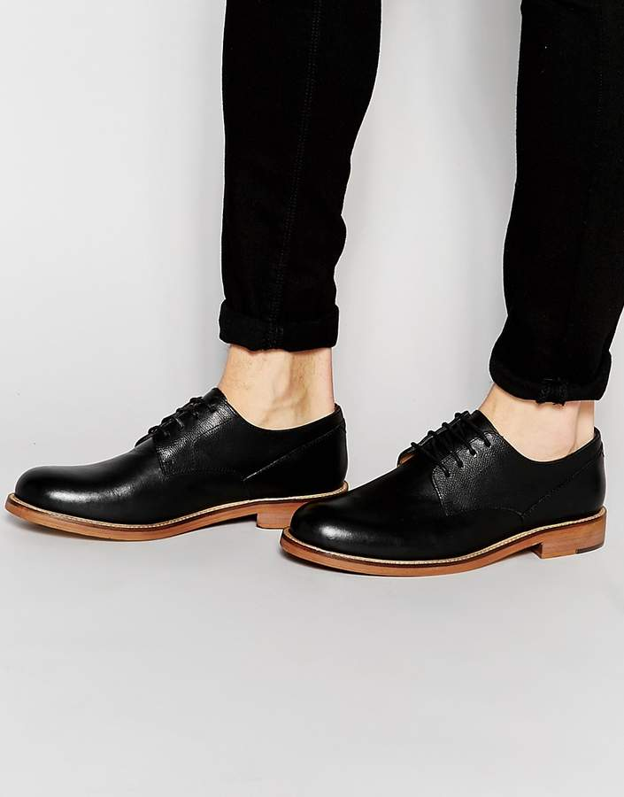 Ben Sherman Ben Sherman Deon Derby Shoes In Black