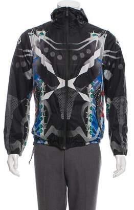Marcelo Burlon County of Milan Printed Windbreaker Jacket