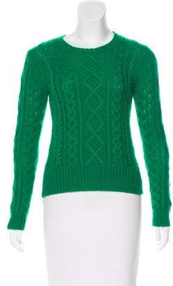 Isabel Marant Wool Cable Knit Sweater