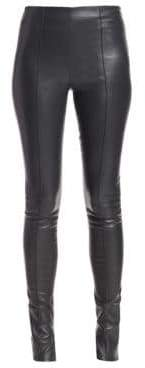 The Row Hailen Lambskin Leather Leggings