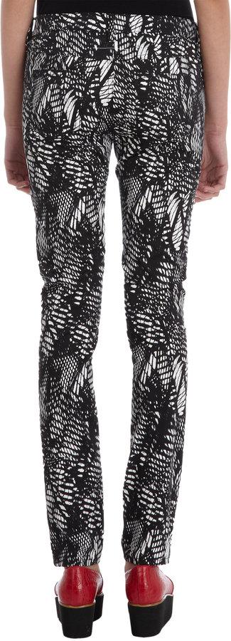 Maison Martin Margiela Printed Skinny Pants