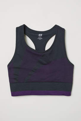 H&M Sports Bra Low support - Blue