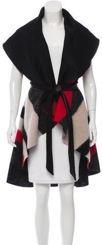 Alice + OliviaAlice + Olivia Striped Wool Vest