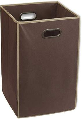 Laundry by Shelli Segal Simple Houseware Foldable Closet Laundry Hamper Basket