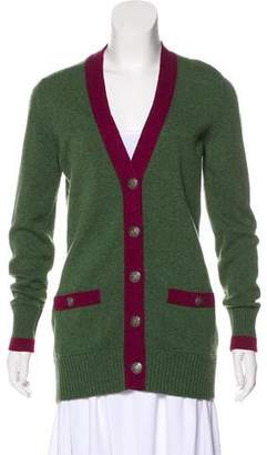 Chanel Paris-Edinburgh Cashmere Cardigan