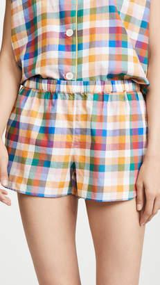 Madewell Bedtime Pajama Shorts
