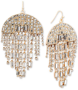 Steve Madden Crystal Chandelier Earrings