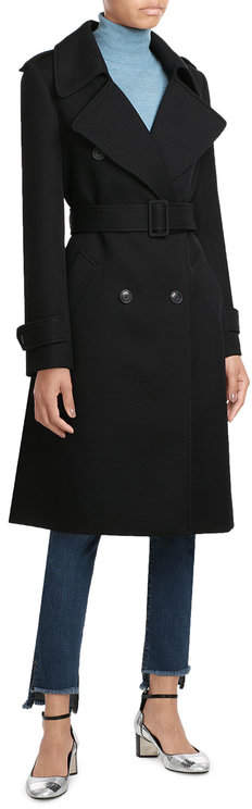 Paule Ka Paule Ka Virgin Wool Coat