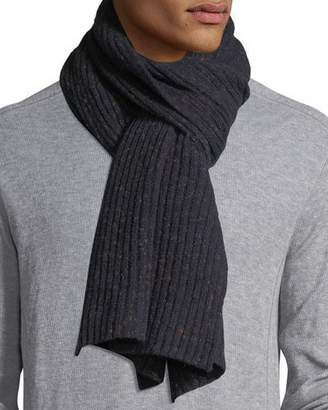 Isaia Cashmere Donegal Scarf