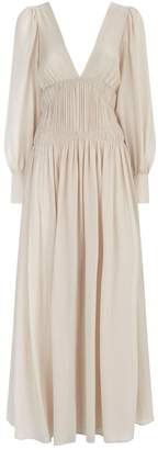 Stella McCartney Carleigh Silk Maxi Dress