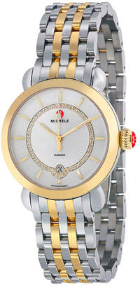 Michele Women's Csx Elegance Diamond Dial Watch