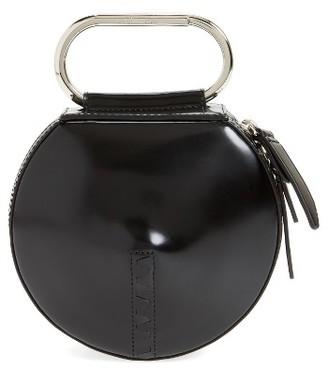 3.1 Phillip Lim Alix Leather Circle Clutch - Black $395 thestylecure.com