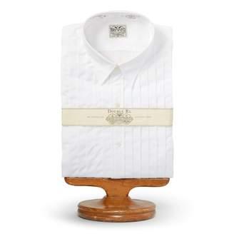 Ralph Lauren Eli Pleated Tuxedo Shirt
