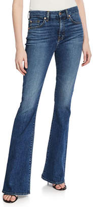 64ec13a32e 7 For All Mankind Ali High-Waist Flare-Leg Jeans