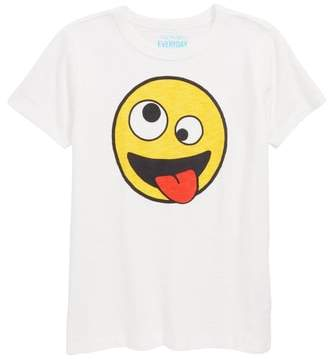 J.Crew crewcuts by Crazy Eyes Emoji Graphic T-Shirt