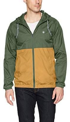 Volcom Volco Men's Ermont Hooded Windbreaker Jacket