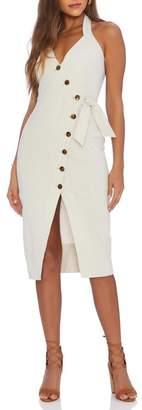 ELLEJAY Jamie Midi Dress