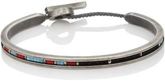 M. Cohen Men's Ceramic & Sterling Silver Bracelet