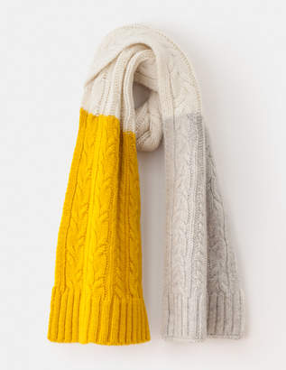 Boden Cable Knit Scarf