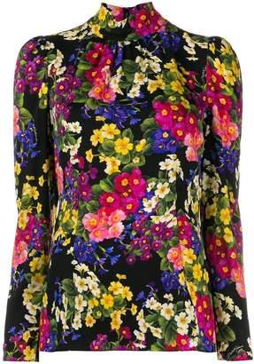 Dolce & Gabbana floral print blouse