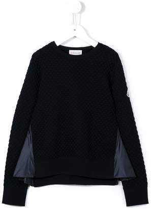 Moncler textured jumper