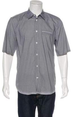 Marc Jacobs Gingham Short Sleeve Shirt