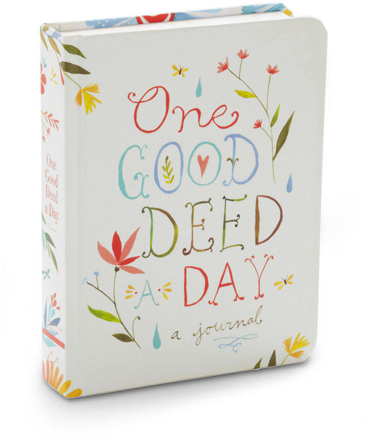 Chronicle Books One Good Deed a Day Journal