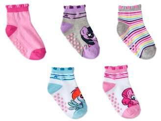 My Little Pony Baby Toddler Quarter Socks, 5-pack