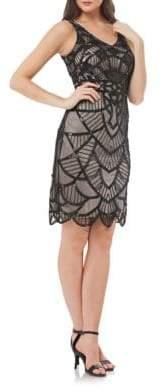 JS Collections Art Deco Beaded Dress
