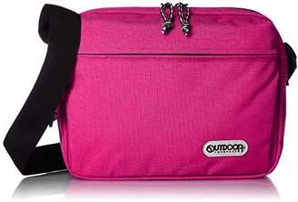 Outdoor Products (アウトドア プロダクツ) - [アウトドア プロダクツ] OUTDOOR PRODUCTS 横型ショルダーバッグ 61519 (ピンク)