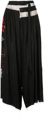 Yohji Yamamoto Slip Doushikai trousers