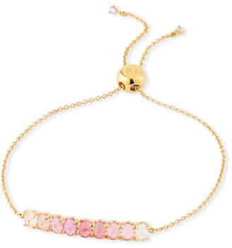 Tai Pull-Tie Ombre Stone Bracelet, Pink
