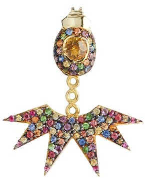 Women's Daniela Villegas Multicolor Sapphire Ear Jacket $4,800 thestylecure.com