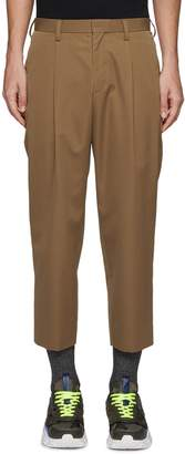 Kolor Pleated wool pants