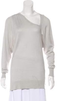 Halston Casual Long Sleeve Top
