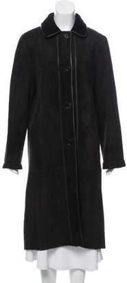 Michael Kors Long Shearling Coat