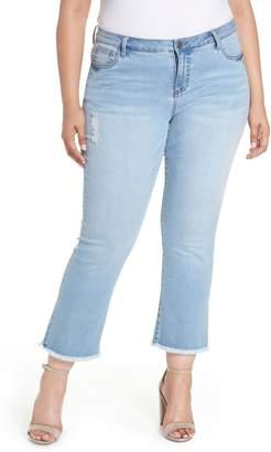 KUT from the Kloth Stella Kick Flare Jeans