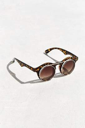 Urban Outfitters Flip-Top Double Lens Round Sunglasses