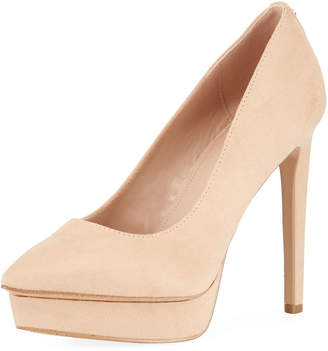 BCBGeneration Heidi Pointed-Toe Platform Pumps