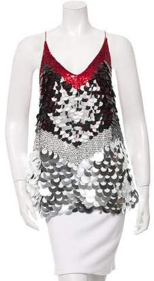 Altuzarra Embellished Fish Scale Top w/ Tags