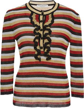 Philosophy di Lorenzo Serafini Lurex Striped Sweater