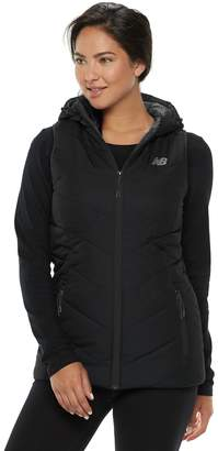 New Balance Women's Hooded Quilted Vest