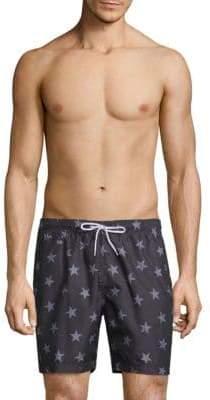 Trunks American Star-Print Sano Swim Shorts