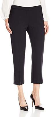 Lark & Ro Women's Straight Cropped Pant