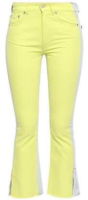 MSGM High-rise Slim-leg Jeans