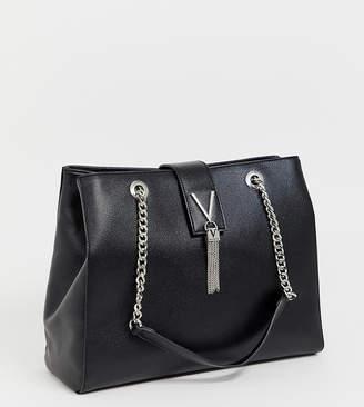 Mario Valentino Valentino By Valentino by Divina Large Tote V tassle bag