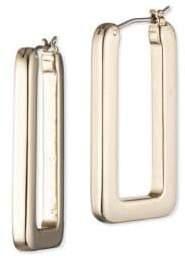 Ralph Lauren 12K Gold Hoop Earrings
