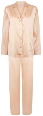 La Perla Silk Petal Pink Silk Pyjama Set